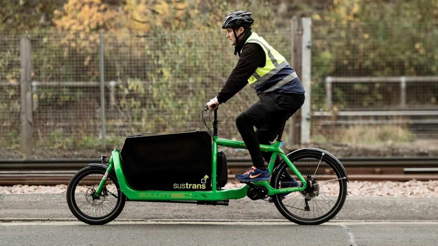 The Edinburgh Cargo Bike Library - Sustrans.org.uk